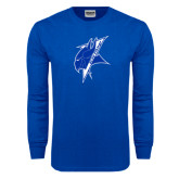 Royal Long Sleeve T Shirt-Viking Head