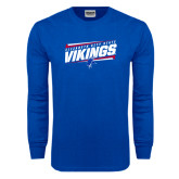 Royal Long Sleeve T Shirt-Slanted Vikings