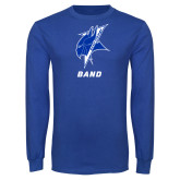 Royal Long Sleeve T Shirt-Band