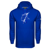 Under Armour Royal Performance Sweats Team Hoodie-Viking Head
