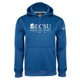 Under Armour Royal Performance Sweats Team Hoodie-ECSU