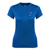 Ladies Syntrel Performance Royal Tee-Viking Head