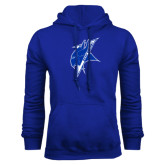 Royal Fleece Hoodie-Viking Head