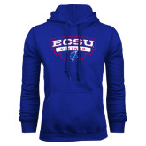 Royal Fleece Hoodie-Arched ECSU Vikings