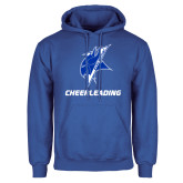 Royal Fleece Hoodie-Cheerleading