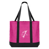 Tropical Pink/Dark Charcoal Day Tote-Viking Head