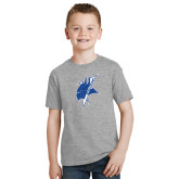 Youth Grey T-Shirt-Viking Head
