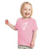 Toddler Pink T Shirt-Viking Head