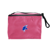 Six Pack Pink Cooler-Viking Head