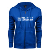 ENZA Ladies Royal Fleece Full Zip Hoodie-Tagline