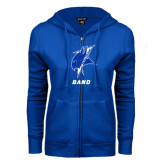 ENZA Ladies Royal Fleece Full Zip Hoodie-Band