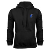 Black Fleece Hoodie-Viking Head