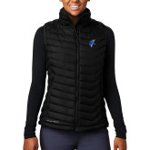 Columbia Lake 22 Ladies Black Vest-Viking Head