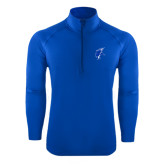 Sport Wick Stretch Royal 1/2 Zip Pullover-Viking Head