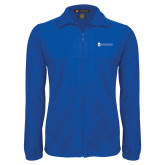 Fleece Full Zip Royal Jacket-ECSU