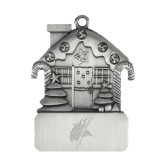 Pewter House Ornament-Viking Head Engraved