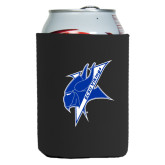 Neoprene Black Can Holder-Viking Head
