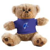 Plush Big Paw 8 1/2 inch Brown Bear w/Royal Shirt-Viking Head