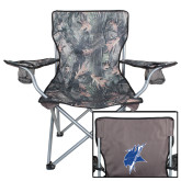 Hunt Valley Camo Captains Chair-Viking Head