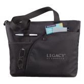 Excel Black Sport Utility Tote-Legacy By Embraer