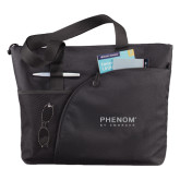 Excel Black Sport Utility Tote-Phenom By Embraer
