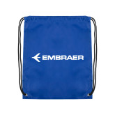 Royal Drawstring Backpack-Embraer