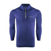 Under Armour Navy Tech 1/4 Zip Performance Shirt-Legacy By Embraer