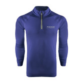 Under Armour Navy Tech 1/4 Zip Performance Shirt-Phenom By Embraer