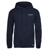 Russell DriPower Navy Fleece Hoodie-Embraer