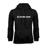 Black Fleece Hoodie-Embraer