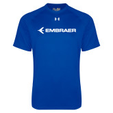 Under Armour Royal Tech Tee-Embraer