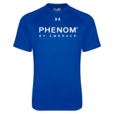 Under Armour Royal Tech Tee-Phenom By Embraer