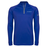 Under Armour Royal Tech 1/4 Zip Performance Shirt-Legacy By Embraer