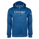 Under Armour Royal Performance Sweats Team Hoodie-Lineage By Embraer