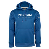 Under Armour Royal Performance Sweats Team Hoodie-Phenom By Embraer