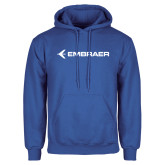 Royal Fleece Hoodie-Embraer