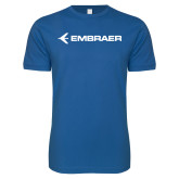 Next Level SoftStyle Royal T Shirt-Embraer