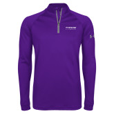 Under Armour Purple Tech 1/4 Zip Performance Shirt-Phenom By Embraer