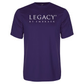 Syntrel Performance Purple Tee-Legacy By Embraer