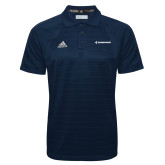 Adidas Climalite Navy Jaquard Select Polo-Embraer