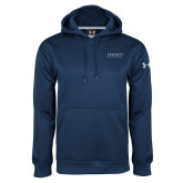 Under Armour Navy Performance Sweats Team Hoodie-Legacy By Embraer