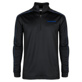 Nike Golf Dri Fit 1/2 Zip Black/Royal Pullover-