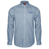 Red House Light Blue Plaid Long Sleeve Shirt-Embraer