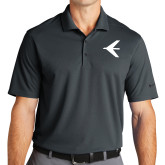 Nike Golf Dri Fit Charcoal Micro Pique Polo-Embraer Bird