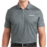 Nike Dri Fit Charcoal Crosshatch Polo-Embraer