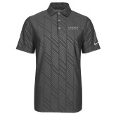 Nike Dri Fit Charcoal Embossed Polo-Legacy By Embraer