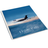 College Spiral Notebook w/Clear Coil-Legacy 450