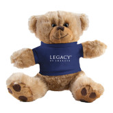 Plush Big Paw 8 1/2 inch Brown Bear w/Navy Shirt-Legacy By Embraer