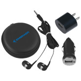 3 in 1 Black Audio Travel Kit-