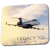 Full Color Mousepad-Legacy 500 Front View In Clouds